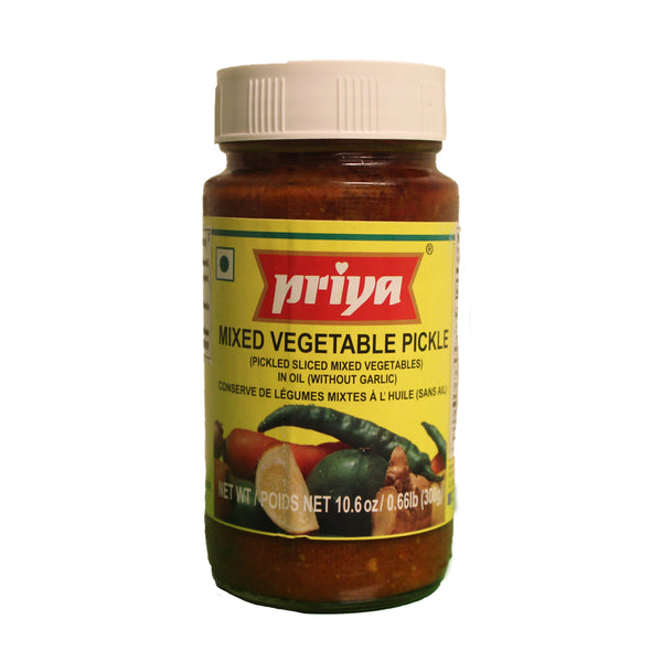 Priya Mixed Vegetable Pickle - 300g