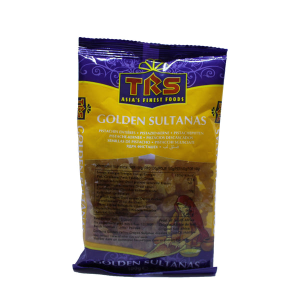 TRS Golden Sultananas (Raisins) - 100g