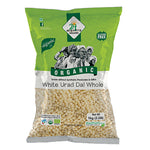 24 Mantra Urad Dal White Whole - 1 kg