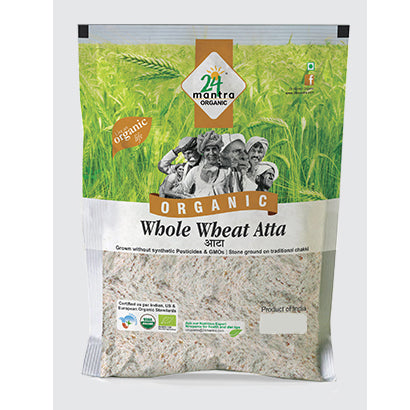 24 Mantra Whole Wheat Atta - 5 kg