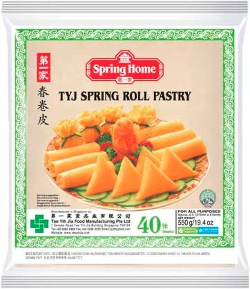 Spring Home - Spring rool Pastry 40 Sheets