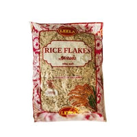 Leela Rice Flakes Red (Aval) - 500g