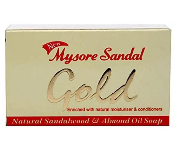 Mysore sandal Gold soap -  125g