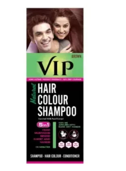 VIP Hair colour shampoo -180ml.
