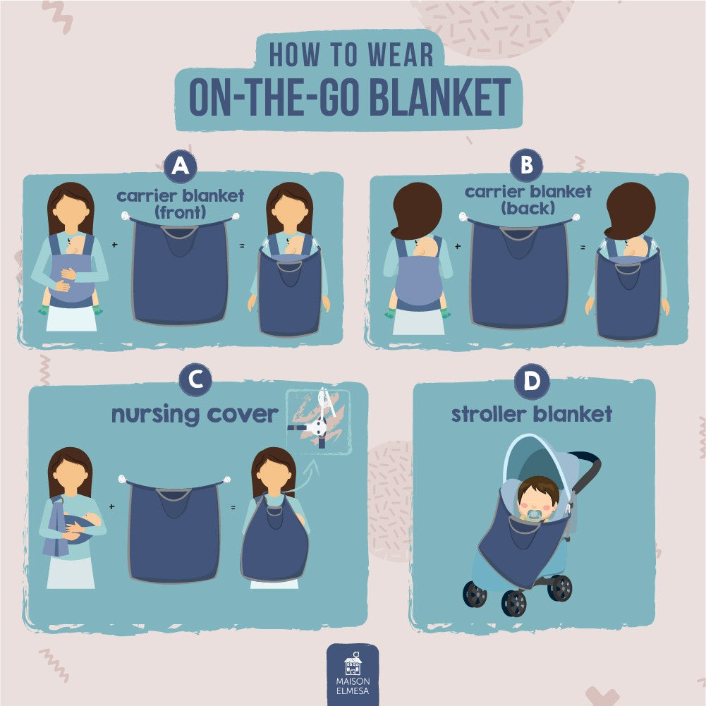 ON THE GO blanket