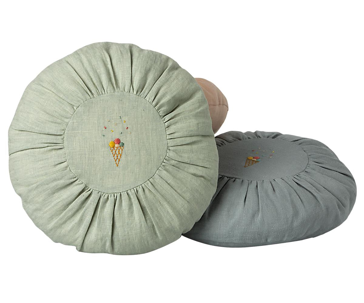 CUSHION, ROUND - MINT (Pre-order for May-June)