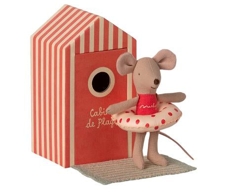 BEACH MICE, LITTLE SISTER IN CABIN DE PLAGE (Pre-order for May)
