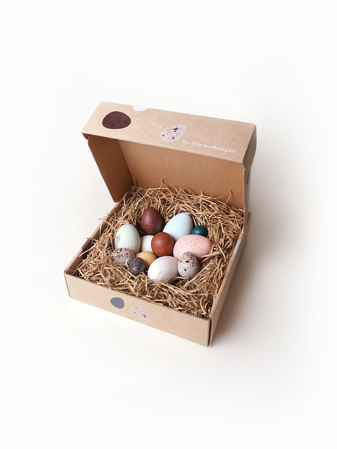 A Dozen Bird Eggs In A Box