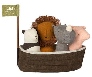 NOAH`S ARK WITH 4 RATTLES (Pre-order for May-June)
