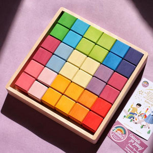Skandico Big Set of blocks Pastel color