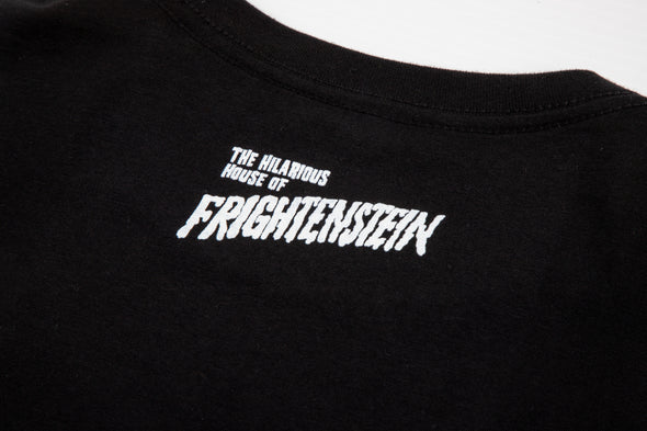 Official Hilarious House of Frightenstein T-Shirt - Groovy Igor