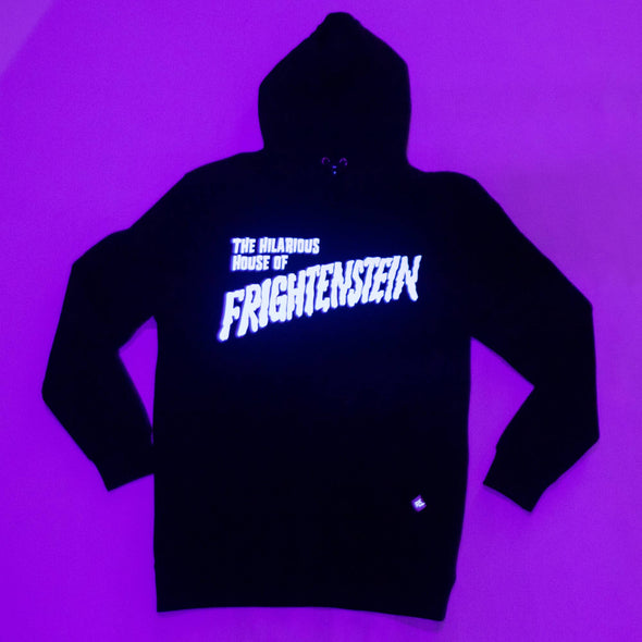 Official Hilarious House of Frightenstein Hoodie - Glow-in-the-Dark