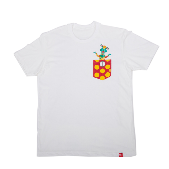 Official TVO Polkaroo Pocket T-Shirt - Unisex
