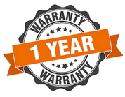 1 Year Unconditional Warranty