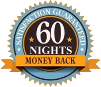 money back guarantee for 60 nights