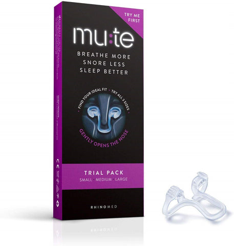 mute nasal device in box
