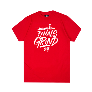 Finals Grind Handwritten Tee - Red