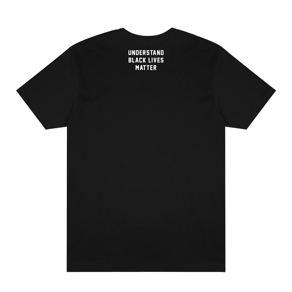 UTG x BLM - James Baldwin Tee - Black