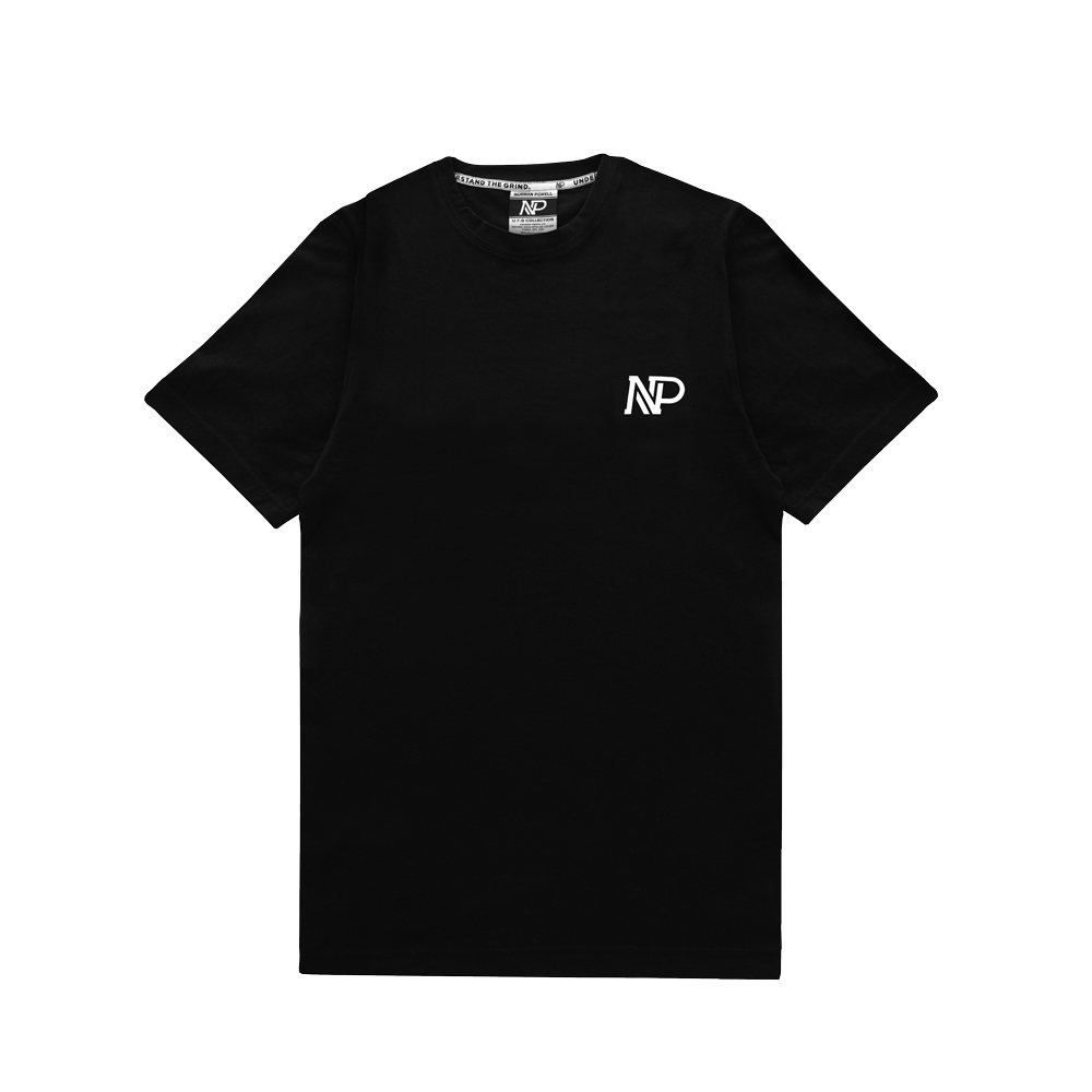 Premium Black NP/ Understand the Grind Tee - Black