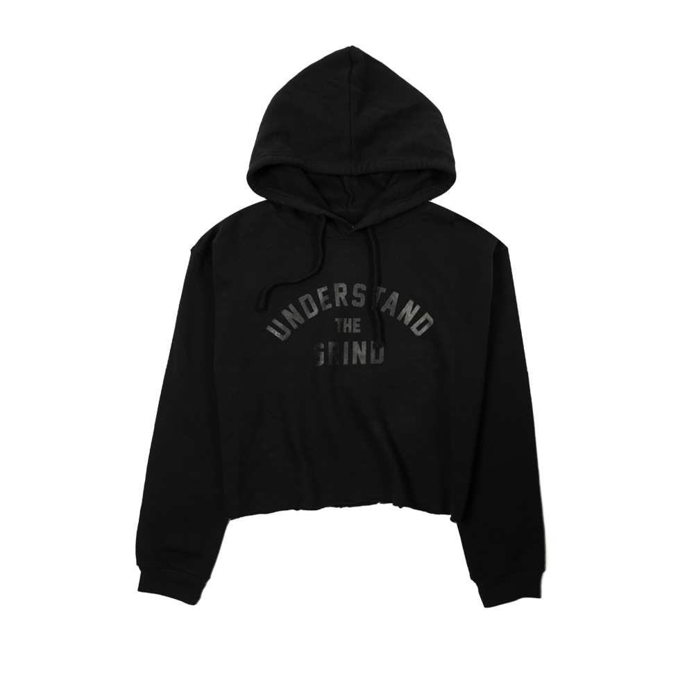 Understand the Grind Women's Pullover Cropped Hoodie