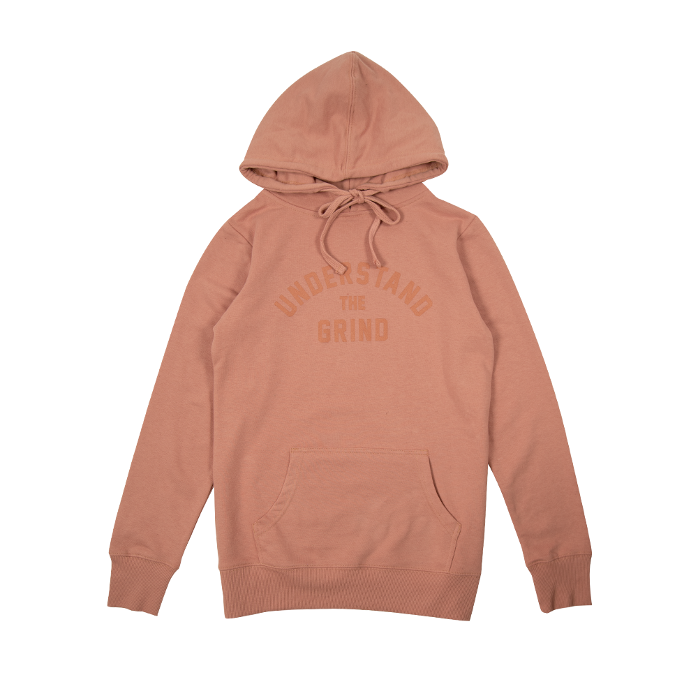 Understand the Grind Women's Pullover Hoodie - Dusty Rose