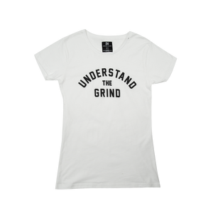 Understand the Grind Women's Tee - White