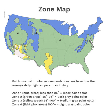 Bat house zone map