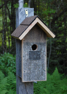 Barn Board Bird House - Temporarily Out Of Stock-Taking Orders