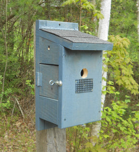 Bluebird House with Side Viewing Door