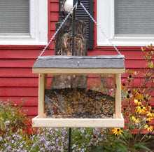 Load image into Gallery viewer, Rectangle Hanging Bird Feeder