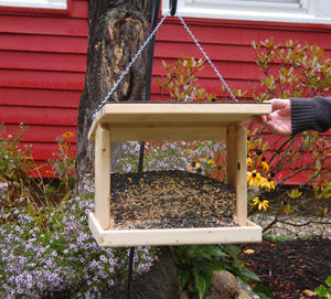 Rectangle Hanging Bird Feeder