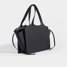 Load image into Gallery viewer, CELINE Medium Tote Bag in Black Grained Leather