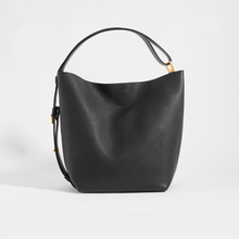 Load image into Gallery viewer, GIVENCHY GV Bucket Bag in Medium Grained Black Leather