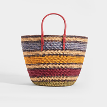 Load image into Gallery viewer, BALENCIAGA Vintage City Rainbow Basket Bag