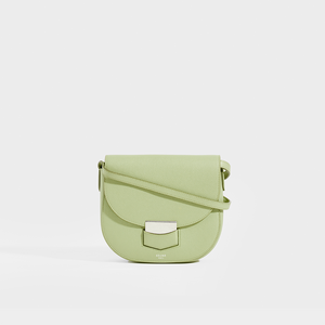 CELINE Small Trotteur Bag in Pistachio