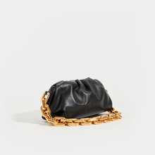 Load image into Gallery viewer, BOTTEGA VENETA The Chain Pouch in Black