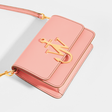 Load image into Gallery viewer, JW ANDERSON Anchor Logo Small Crossbody in Pink Leather