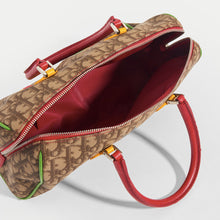 Load image into Gallery viewer, DIOR Vintage Rasta Boston Diorissimo Canvas Bag