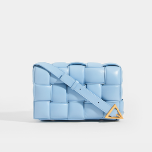 BOTTEGA VENETA Padded Cassette Crossbody in Ice