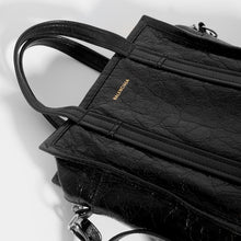 Load image into Gallery viewer, BALENCIAGA Bazar XS Textured Leather Tote