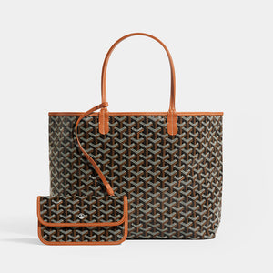 GOYARD Saint Louis PM Tote in Black