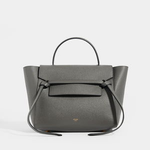 CELINE Mini Belt Bag in Grained Leather