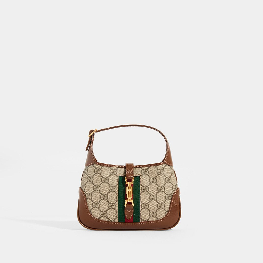 GUCCI Jackie 1961 Mini Hobo bag in Canvas