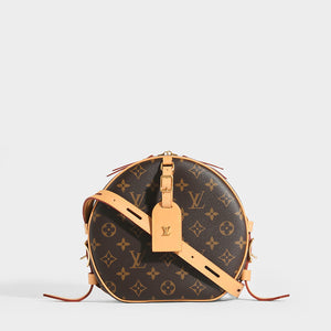 LOUIS VUITTON Boite Chapeau Souple Monogram Crossbody Bag