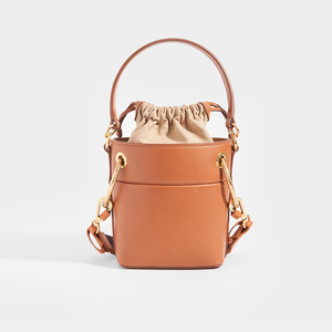 CHLOÉ Roy Mini Leather Bucket Bag