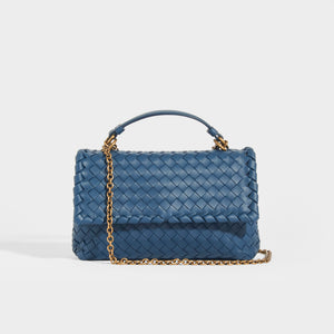 BOTTEGA VENETA Intrecciato Nappa Baby Olimpia Shoulder Bag
