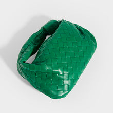 Load image into Gallery viewer, BOTTEGA VENETA Mini Jodie Intrecciato Leather Top Handle Bag