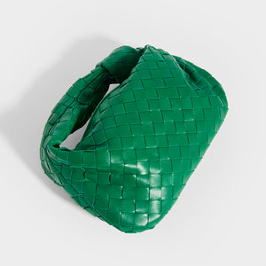 BOTTEGA VENETA Mini Jodie Intrecciato Leather Top Handle Bag