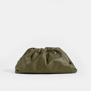 BOTTEGA VENETA Large Pouch in Mustard Leather