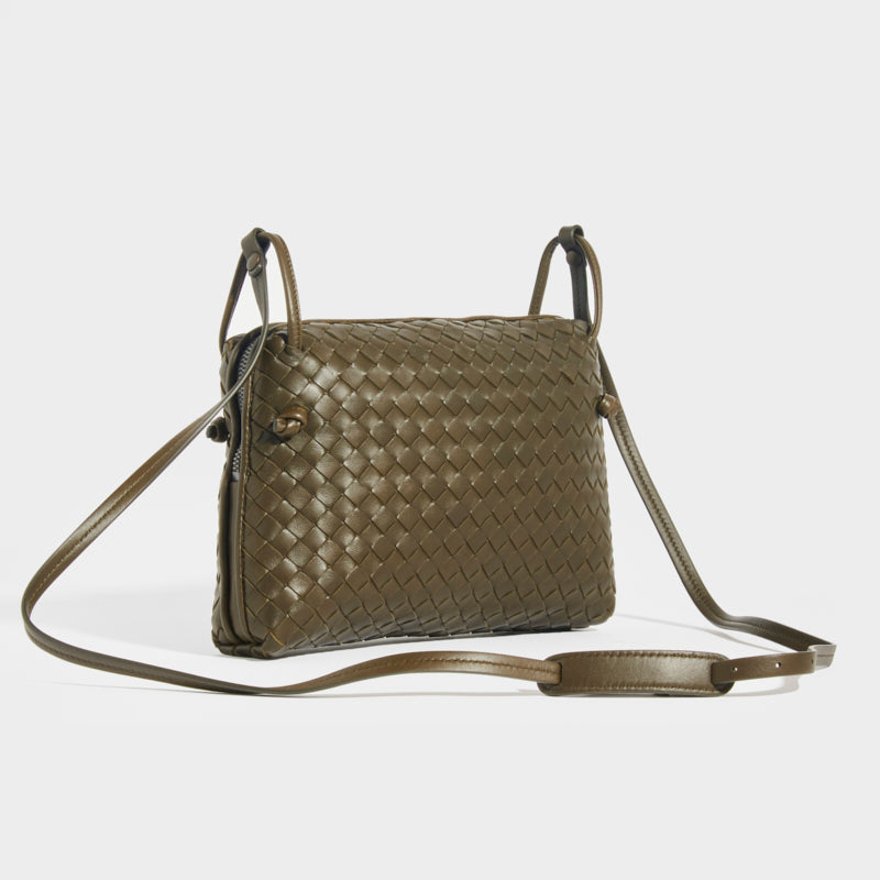 BOTTEGA VENETA Nodini Intrecciato Crossbody Bag